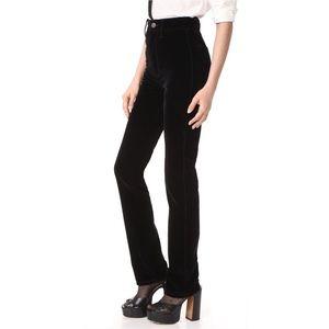 90s Old Navy velvet high rise jeans size 6